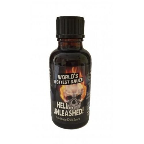 Hell Unleashed 13Million SHU Hot Sauce, 30ml