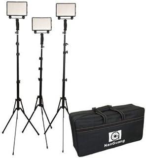نانجوانج LED CN-5400 PRO طقم اضاءة LED 3 X LED ضوء 23 سم X 20 سم
