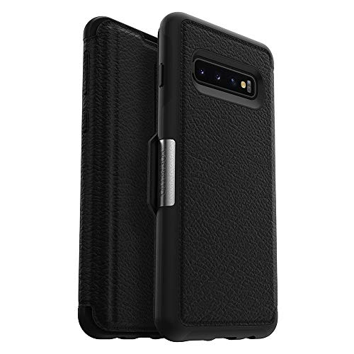 OtterBox STRADA SERIES Case for Galaxy S10 - Retail Packaging - SHADOW (BLACK/PEWTER)