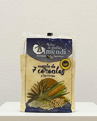 Gofio IMENDI Mix 7 Cereali 1 Kg. Prodotto Isole Canarie.