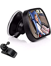 Rear View Facing Back Seat Mirror for Child Safety