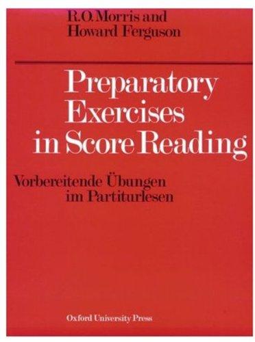 Preparatory Exercises in Score Reading (Vorbereitende...