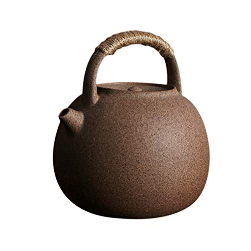 Theepot Theeketel Pot, Yixing Handgemaakte Pure Clay Theepot, Sterk en Duurzaam, Mooi Gezond voor Losse Bladzakken