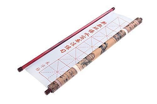 Quantum Abacus Kalligraphierolle zum Üben, zur Benutzung mit Wasser, beliebig oft wiederverwendbar, Maße: 50cm x 72cm, Mod. TPS-01