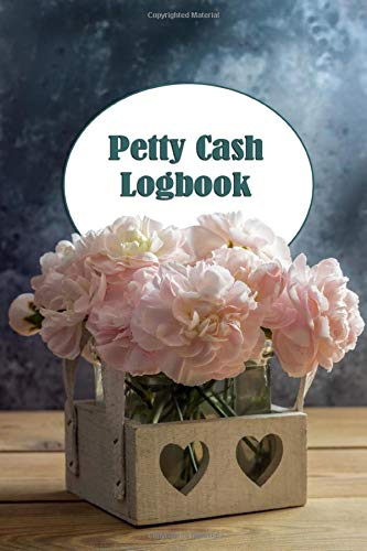 Petty Cash Logbook: Flower Box cash recording ledger for tracking financial payments within the office department or club.