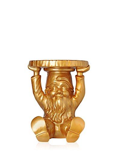 Kartell 883195 Tuindwerg-kruk Gnome Attila, goud