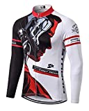 MR Strgao Men's Cycling Winter Thermal Jacket Windproof Long Sleeves Bike Jersey Bicycle Coat Size 2XL