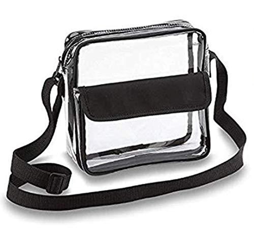 YDZ transparante handtas voor vrouwen Rits transparante schoudertassen