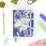 Agenda 2021 Violeta - Día Página - 420 Páginas - Tamaño A6-12,5 x 17 cm