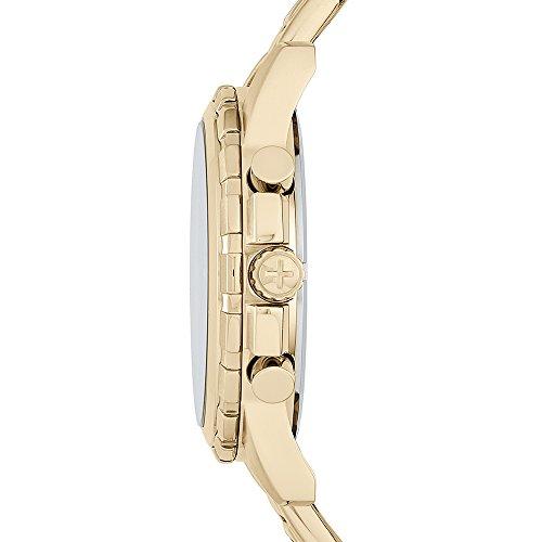 Fossil Dean - Montre chronographe avec Cadran Champagne et Bracelet doré pour Homme FS4867