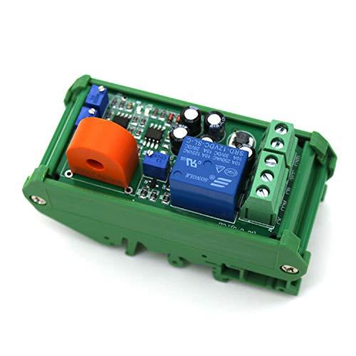 Range Arduino 0-20A módulo de Sensor de Corriente CA de Salida del Interruptor de CC 24V Gama Completa de detectores lineales (Bundle : 0 to 20A Plus Base)