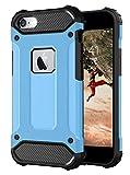 Funda para iPhone 6s Plus azul [iPhone 6 Plus carcasa rígida para exterior] Ultra Slim compatible con el iPhone 6S Plus & 6 Plus Case