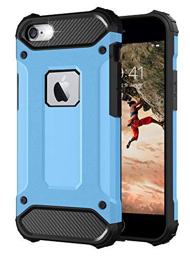 BYONDCASE iPhone 6s Hülle Blau [iPhone 6 Handyhülle Panzer Outdoor Hardcase] Ultra Slim kompatibel mit dem iPhone 6s und 6 Hülle
