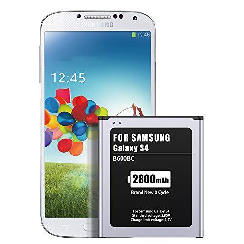 Akku für Galaxy S4, ZMNT 2800mAh Neu Ersatz Akku für Samsung Galaxy S4, AT&T I337, Verizon I545, Sprint L720, T- Mobile M919, R970, I9500, I9505, Galaxy S4 LTE I9506