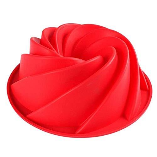 MJY Big Swirl Forme Silicone Beurre Moule À Cake Moule Outils De Cuisson Pour Moule À Cake Moule De Cuisson De Qualité Alimentaire En Silicone Bakeware Cuisine Fournitures