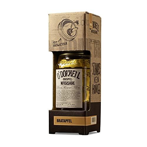 """O'Donnell Moonshine Kombiset """"Bratapfel"""" Likör (700 ml) I Natürliche Zutaten I Premium Schnaps I 20% Vol. Alkohol"""