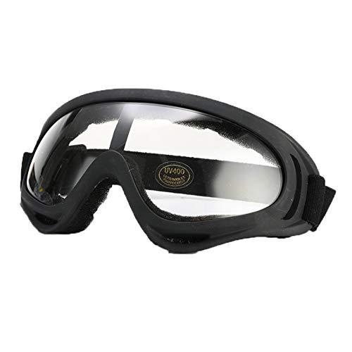Exterior Invierno a prueba de viento gafas de esquí gafas deportes al aire libre anti-ultravioleta polvo a prueba de polvo montando gafas de sol gafas de seguridad para hombres, mujeres y jóvenes