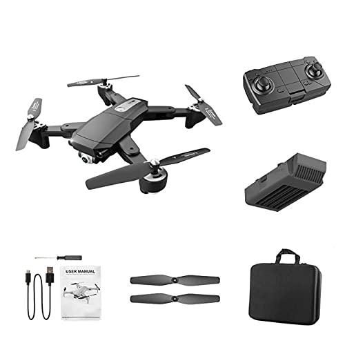 fällbar GPS-drönare med 4K-kamera för vuxna, Rc Quadcopter med enkel/dubbel kamera, långt kontrollavstånd, Smart Follow, gestfoto, automatisk återkomst hem, 30min lång flygtid, waypoints, bärväska