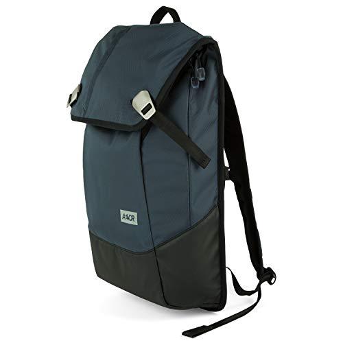 AEVOR Daypack - erweiterbarer Rucksack, wasserfest, ergonomisch, Laptopfach - Proof Petrol - Petrol