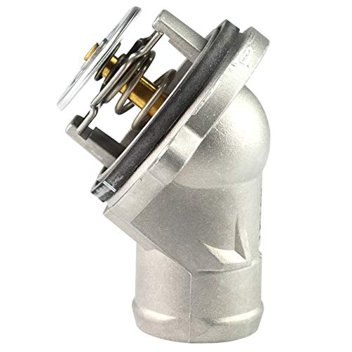 TOPAZ 1122030275 Engine Coolant Thermostat Aluminium Housing with Seal for Mercedes M112 M113