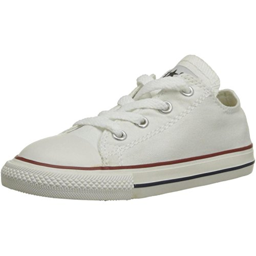 Converse Toddler White All Star Ox Trainers-UK 10 Infant
