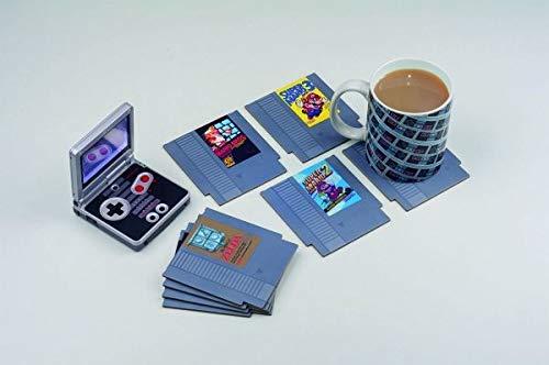 Nintendo Dessous de Verre Cartouche Nes - Papier/Isorel - 9 x 1 x 10 cm