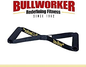 Bullworker Iso-Bow: Isometric Exercise Equipment; Portable Home Fitness Training Strap for Fast Strength and Flexibility Gains, Traveling Stretching Tool for Yoga and Pilates (Does not Stretch)