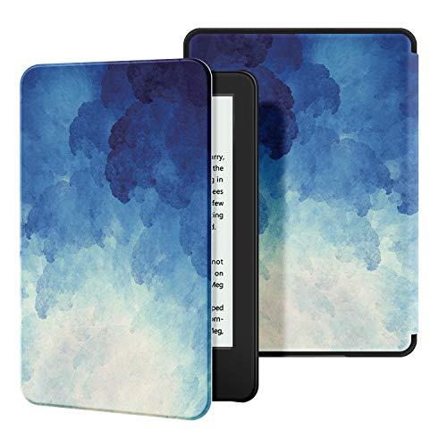 OLAIKE Custodia in Pelle per Kindle 2019 - Case Cover con Sonno/Sveglia la Funzione Compatibile con Amazon Nuovo Kindle (10ª Generazione - Modello 2019) - The Blue Moonlight
