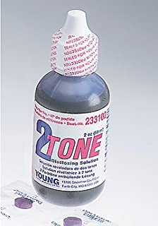 Young Dental 233102 2 Tone Disclosing Solution, 2 oz.