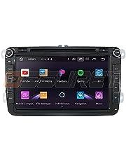 Android 10 Auto GPS Navigatie Bluetooth 2 Din Voertuig Stereo met 8 Inch Touch Screen voor Volkswagen Skoda Seat Ondersteuning Spiegel Link WiFi/4G SWC DVR OBD2 TPMS DAB+