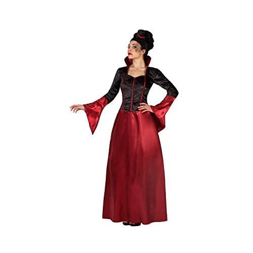 Atosa-19482 Disfraz Vampiresa, Color Rojo, XS/S (19482 ...