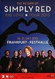 Simply Red - Big Love, Frankfurt 2015 »