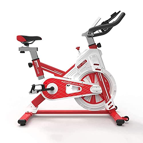 Bicicleta estacionaria Bicicleta estática, la bicicleta estática Inicio Equipo de la gimnasia con la aplicación de control de Smartphone ultra silencioso Bicicleta que hace girar Profesional Máquinas