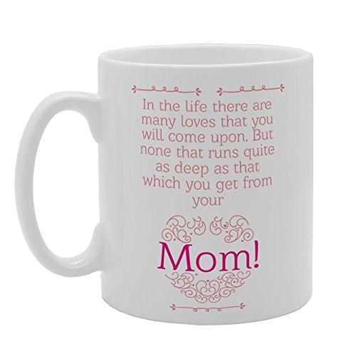 MG3752 Moederdag - In het leven zijn er veel geliefden die je zult komen op nieuwigheid Gift Bedrukte Thee Koffie Keramische Mok