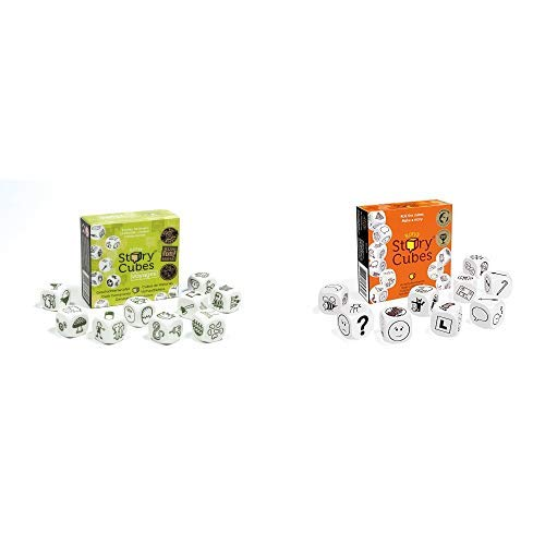 Hutter 603994 - Story Cubes Voyages, Würfelspiel & Rory's Story Cubes