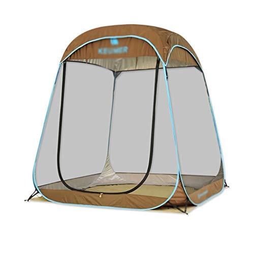 Utilisation multiple Sports de plein air Tente de protection solaire anti-pluie extérieure imperméable et respirante vent automatique Vitesse Ouvert Gaze Camping Camping Pliable Équipement d'extérieur