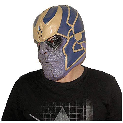 YaPin Fighter Mask Handschuhe Avengers 3 Infinite Krieg Panther Marvel Hand um Peri Cos Infinity Handschuhe (Size : Headgear)
