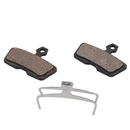 DAUERHAFT Resina y semimetálica agregan protección Adicional Pastilla de Freno de Disco Mejor disipación de Calor Fácil de Instalar, para Bicicleta Code R