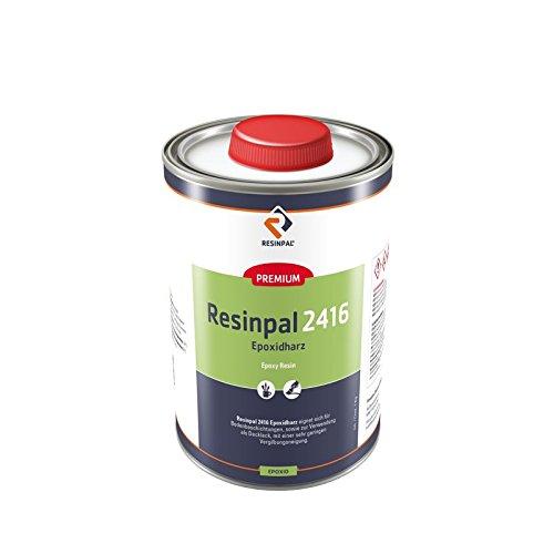 1,5 kg Epoxidharz Klar - glasklares Epoxidharz zum Beschichten - Resinpal 2416