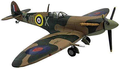 N-T Juguete 1/72 Escala Fighter Modelo de aleación Militaryunited Kingdom 1941 Supermarine Spitfire MK VB Regalos para Adultos 6 1 Pulgada X5 Pulgadas