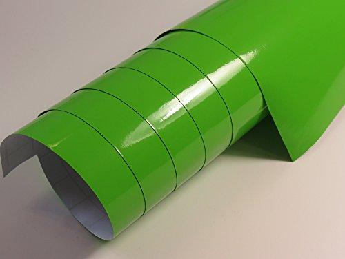 Brillant large vert 10 x 1,52 m avec canaux de ventilation (4,8 €/ m²) les grandes quantités ab 4,06 €/ m²