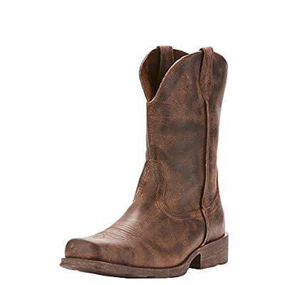 Ariat Men's Rambler Western Boot, Antiqued Grey, 11 D US