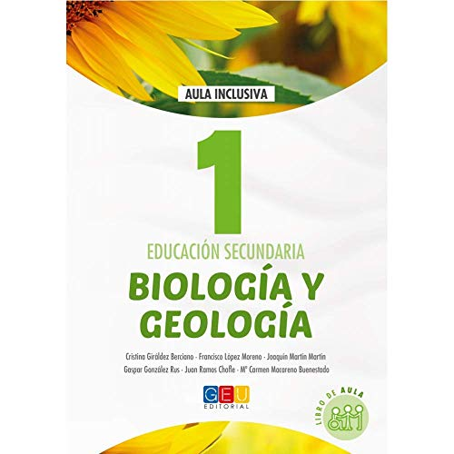 Biología y geología - Libro de texto ciencias naturales - 1º de la ESO/ Editorial GEU / Trabaja el currículo ofical del curso/ Aula inclusiva