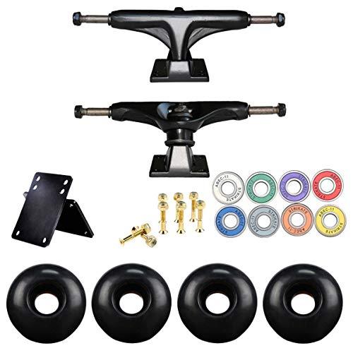 BESPORTBLE Skateboard-Achsen, Räder, Kugellager-Set ABEC-11, Skateboard-Hardware, Zubehör für professionelles Reparaturwerkzeug