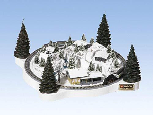 NOCH 88061 - Adventskranz Winterzauber mit Rokuhan Spur Z Gleisen