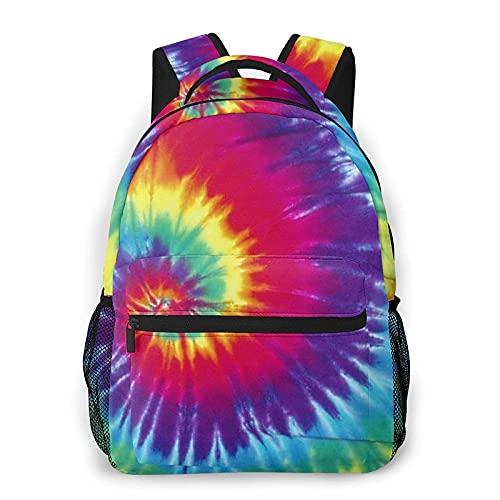 AOOEDM Mochila para hombres y mujeres, hermosas mochilas de día con teñido anudado, mochilas de viaje, bolso de hombro