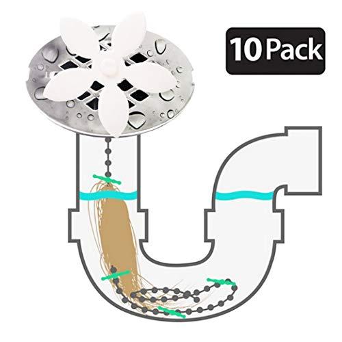 FIBOUND ducha drenaje pelo Catcher(paquete de 10 unidades)�