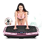 NIMTO Vibration Plate Exercise Machine Whole Body Workout Vibration Fitness Platform for Home Fitness & Weight Loss + BT + Remote, 99 Levels from NIMTO
