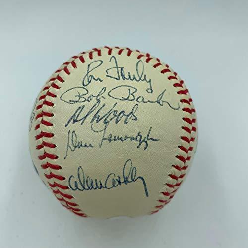 Rare 1977 Toronto Blue Jays Inaugural Season Team Signed Baseball JSA COA