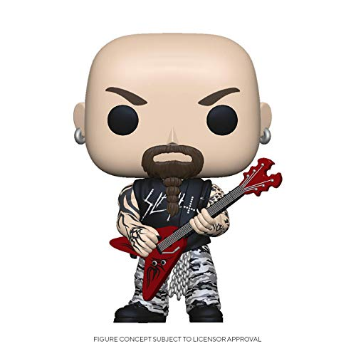 Funko - Pop! Rocks: Slayer - Kerry King Figura Coleccionable, Multicolor (45388)
